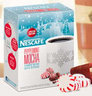 Nescafe peppermint