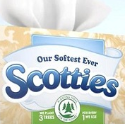 Scotties brand tissues