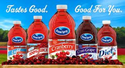 Ocean Spray juices