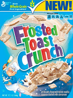 cereal frosted toast crunch