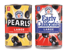 pearls early california olives
