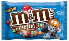 M&M's candy bag