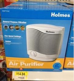 Holmes air purifier walmart