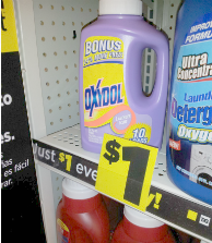 Oxydol laundry detergent dollar general