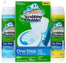 Scrubbing Bubbles one step kit