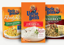 Uncle Ben's Rice products