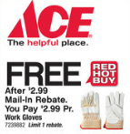 Ace free gloves