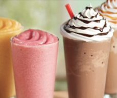 Burger King smoothies and fraps