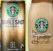 Starbucks coffee drinks