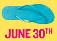 Old Navy flip flops sale
