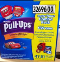 Pull ups combo pack walmart