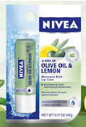 Nivea lip balm lemon