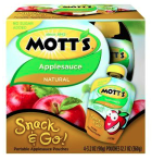 Mott's snack and go