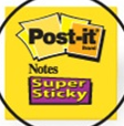 Post-it sticky notes