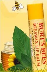 Burt's Bees lip balms