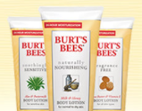 Burt's bees lotion