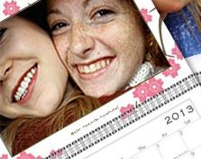 Calendar personalized