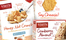 Van's cereal crackers bars