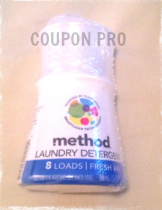 method detergent freebie