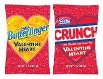 valentines candy crunch butterfinger
