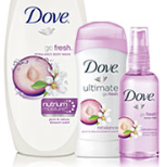 Dove body wash spray deodorant