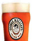 George killians pint glass