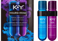 K-Y yours mine lube