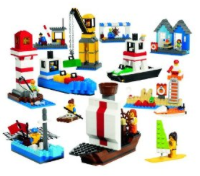 LEGO Harbor set