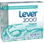 Lever bar soap