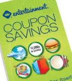 Entertainment coupon book