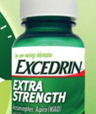 Excedrin bottle