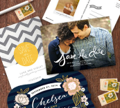 Save the date sample kit