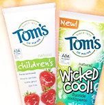 Tom's of Maine childrens toothpaste