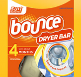 Bounce dryer bars