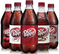 Dr. pepper bottles