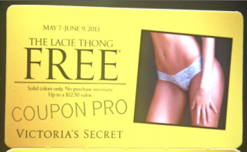 free lacie thong victoria's secret