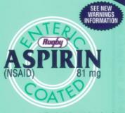 Baby aspirin recall