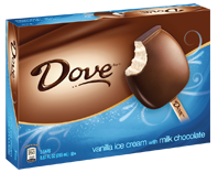 Dove ice cream