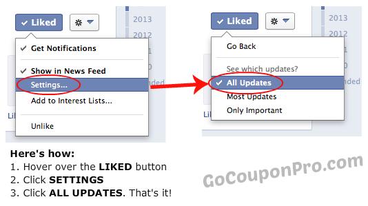 FB all updates
