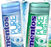Mentos pocket bottles