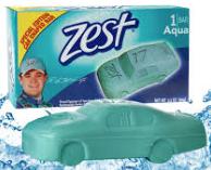 zest car soap