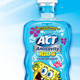 ACT kids mouthwash