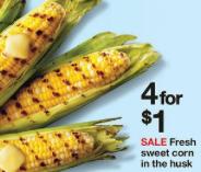Corn sale target