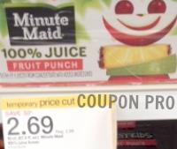 Minute maid juice target