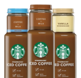 Starbucks bottled ice coffee