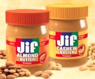 Jif almond butter cashew butter