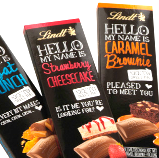 Lindt hello chocolate
