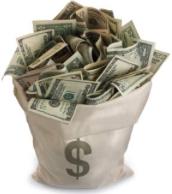 Money cash bag