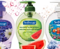 Softsoap hand soaps