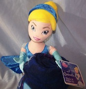 Cinderella Doll and Throw Set